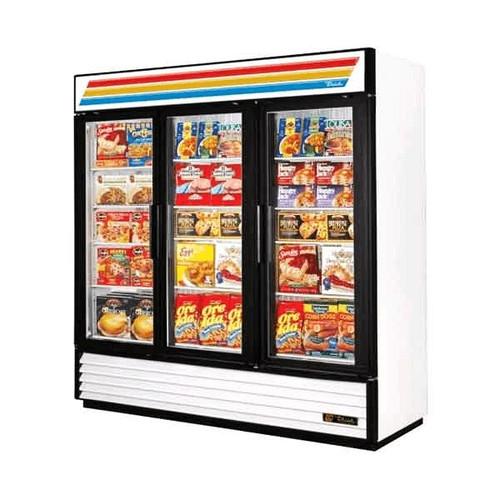 TRUE GDM-72F 72 CuFt. Swing Freezer Merchandiser