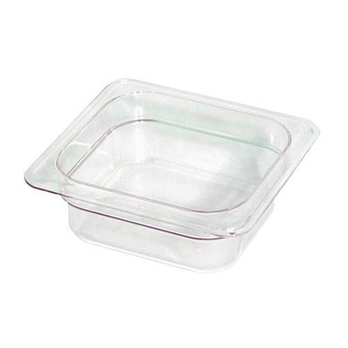 "WINCO SP7602 1/6 Size Food Pan 2.5"" Deep"