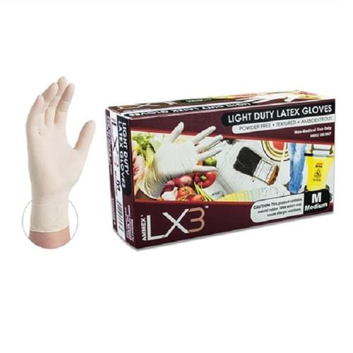 Ammex LX3 Powder Free Latex Glove