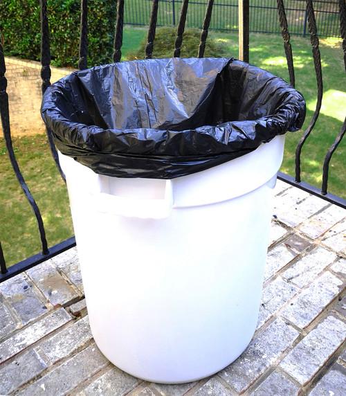 "55-60 Gallon 38"" x 60"" High Density Trash Can Liner"