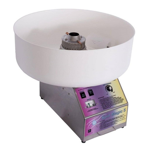Paragon 7150300 Cotton Candy Machine with Plastic Bowl