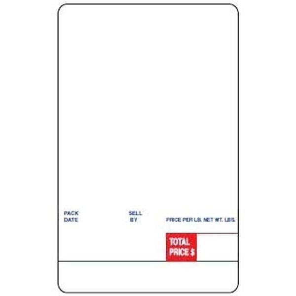 DIGI 60mm X 95mm Blank Scale Label