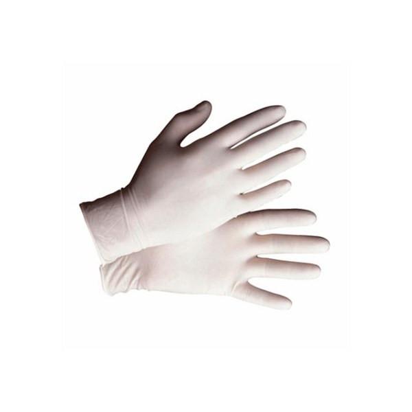 Safety Zone GRPR-LG-1-T Powder Free Latex Glove Large 5 Mil