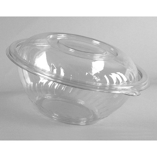 Clear Salad Bowl with Lid 32oz