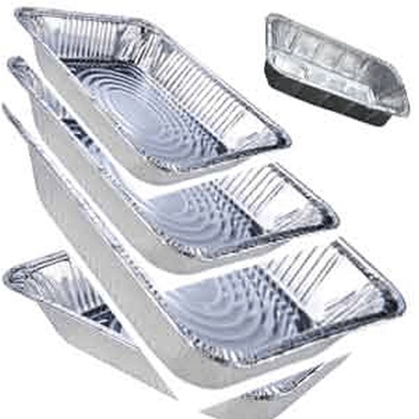 Western Plastic 1/2 Size Foil Steam Table Pan Shallow