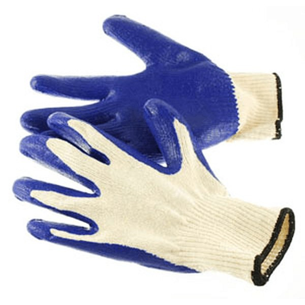 Cotton Working Gloves With Latex Coated