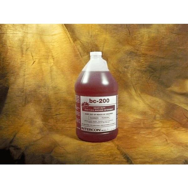 Intercon 708 Heavy Duty Liquid Dishmachine Detergent 1 Gallon