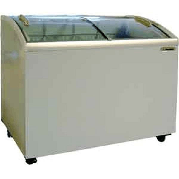 Metalfrio MSC-52 Chest Freezer Curved Glass 15 Cu. Ft.