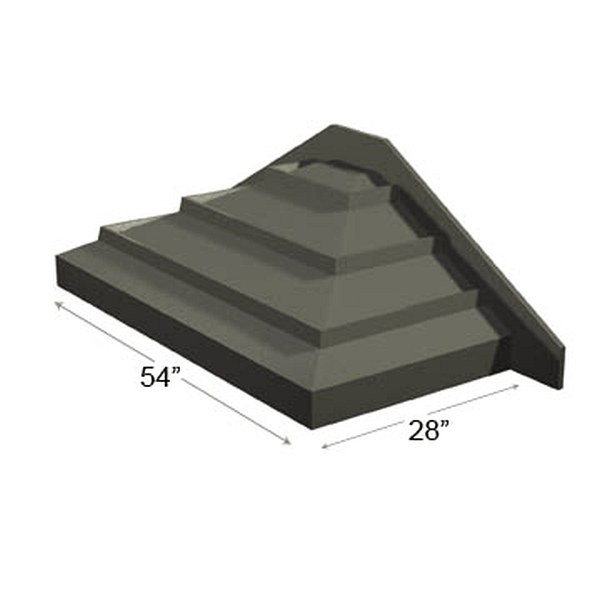 Table End Riser Slant Design For Hi-Profile