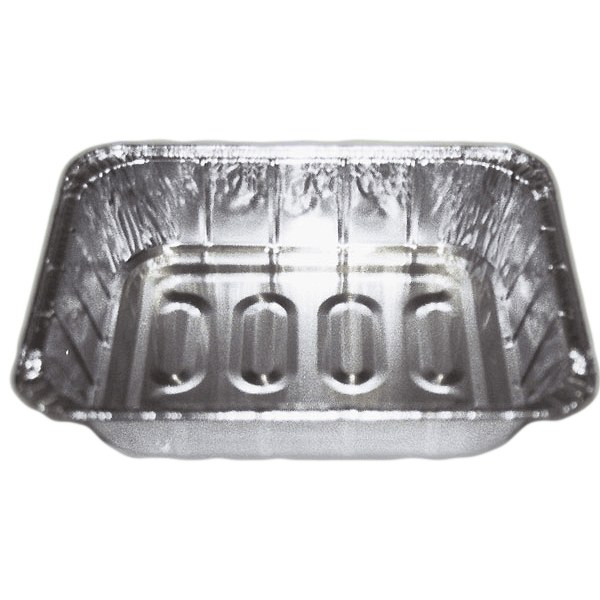 Durable Packaging 6132-100 Aluminum Foil Steam Table Pan Half Size Economy Gauge