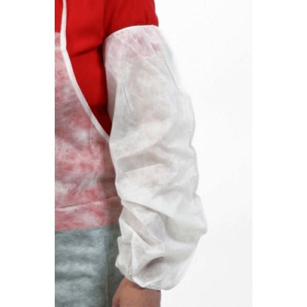 "18"" White Plastic Sleeve"