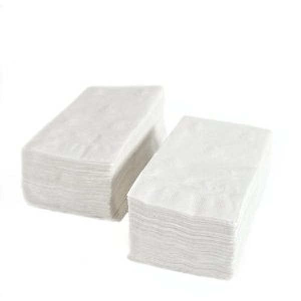 """Hoffmasster 120051 Dinner Napkin 17"""" X 17"""" White 1/8 Fold"""