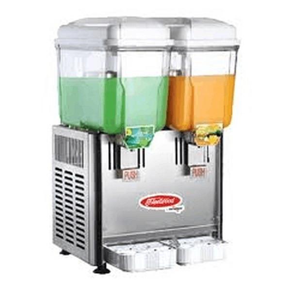 Fleetwood SL003-2P 2 Bowls Refrigerated Drink Dispenser