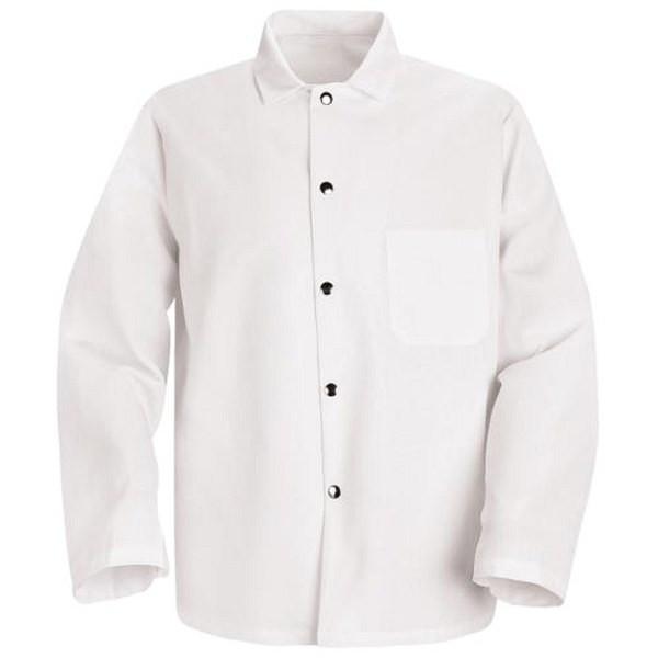 RED KAP KS16-L Short Butcher Coat L