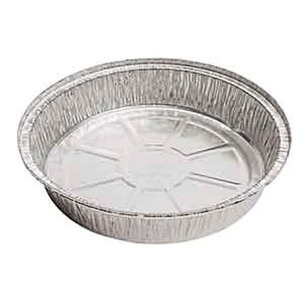 Western Plastic 509-BP 9 Inch Round Foil Container