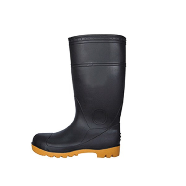 "16"" Black Boots Size 8.5"