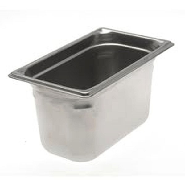UPDATE NJP-256 4.5 Qt. 4th Size Stainless Food Pan