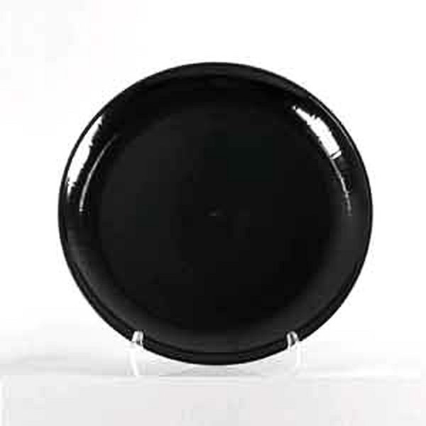 """CaterLine A712PBL25 Serving Tray 12"""" Black Round"""