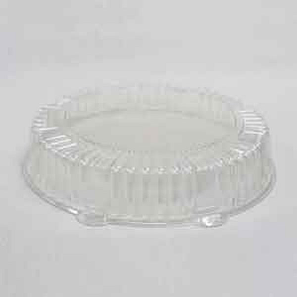 "CaterLine A12PETDMLO Catering Tray Dome Lid 12"" Low"
