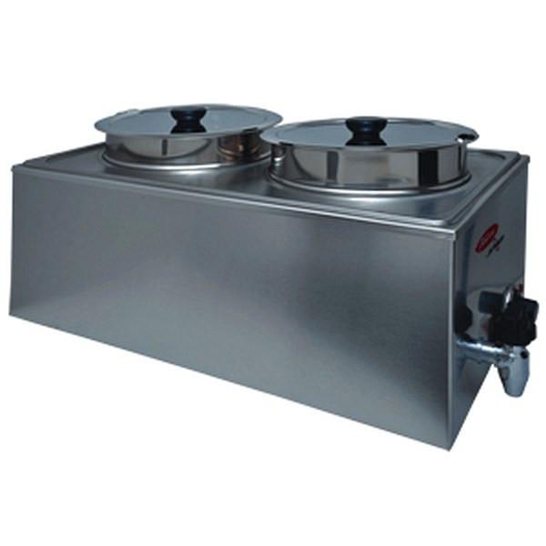 Fleetwood BFW-2B8 Food Warmer DOUBLE BOWL