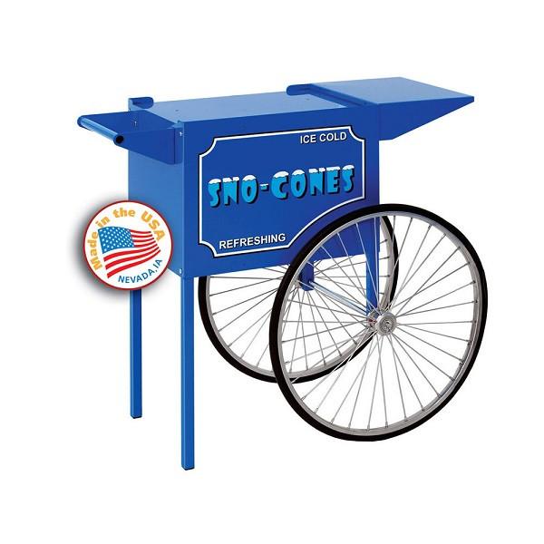 Paragon 3050010 Blue Medium Sno-Cone Cart