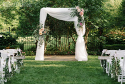 How About A Garden Wedding?--It Can Be Done