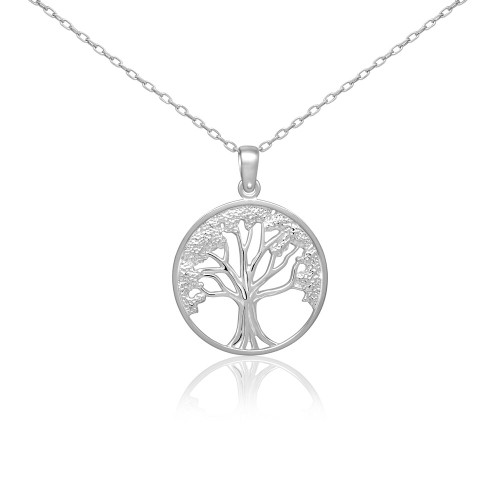 .925 Sterling Silver Tree of Life Pendant