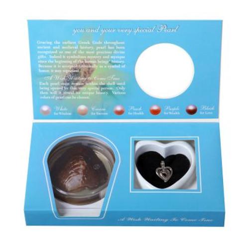 double heart pendant in box set