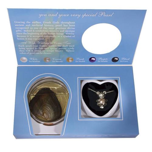 Teddy bear pendant in box set