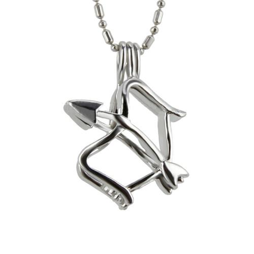 Pearl in Oyster Gift Set w/Sagittarius Pendant