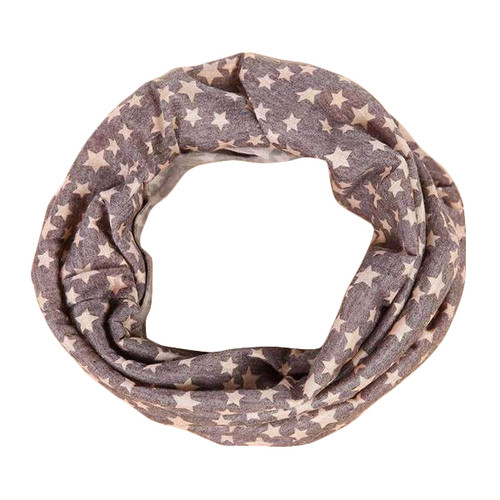 Soft Stretch Style Headband w/Stars Print Design