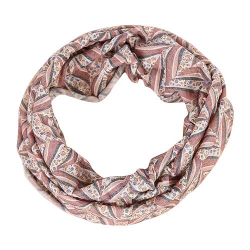 Soft Stretch Style Headband w/Stripes Design