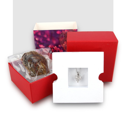 Wish Pearl Gift Set with Circles of Love Pendant