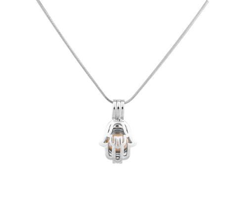 Pearl in Oyster Gift set w/Hamsa Pendant