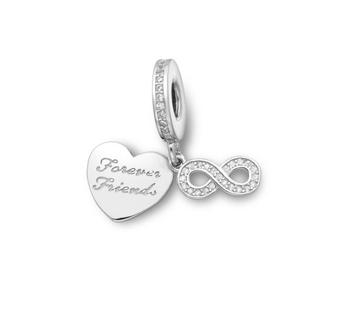 Forever Friends Charm for bracelet
