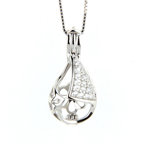 Pear Shaped CZ pendant