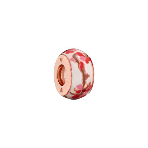 Cherry Rose Gold Charm Bead