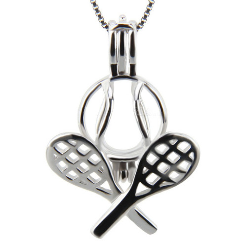 Tennis racket pendant