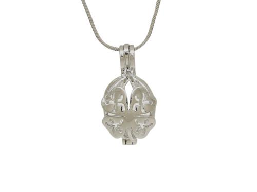Sterling silver Four leaf clover pendant