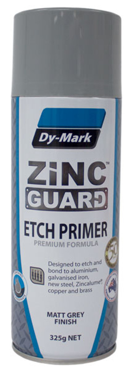 Zinc Guard Etch Primer Metal Protection 325g
