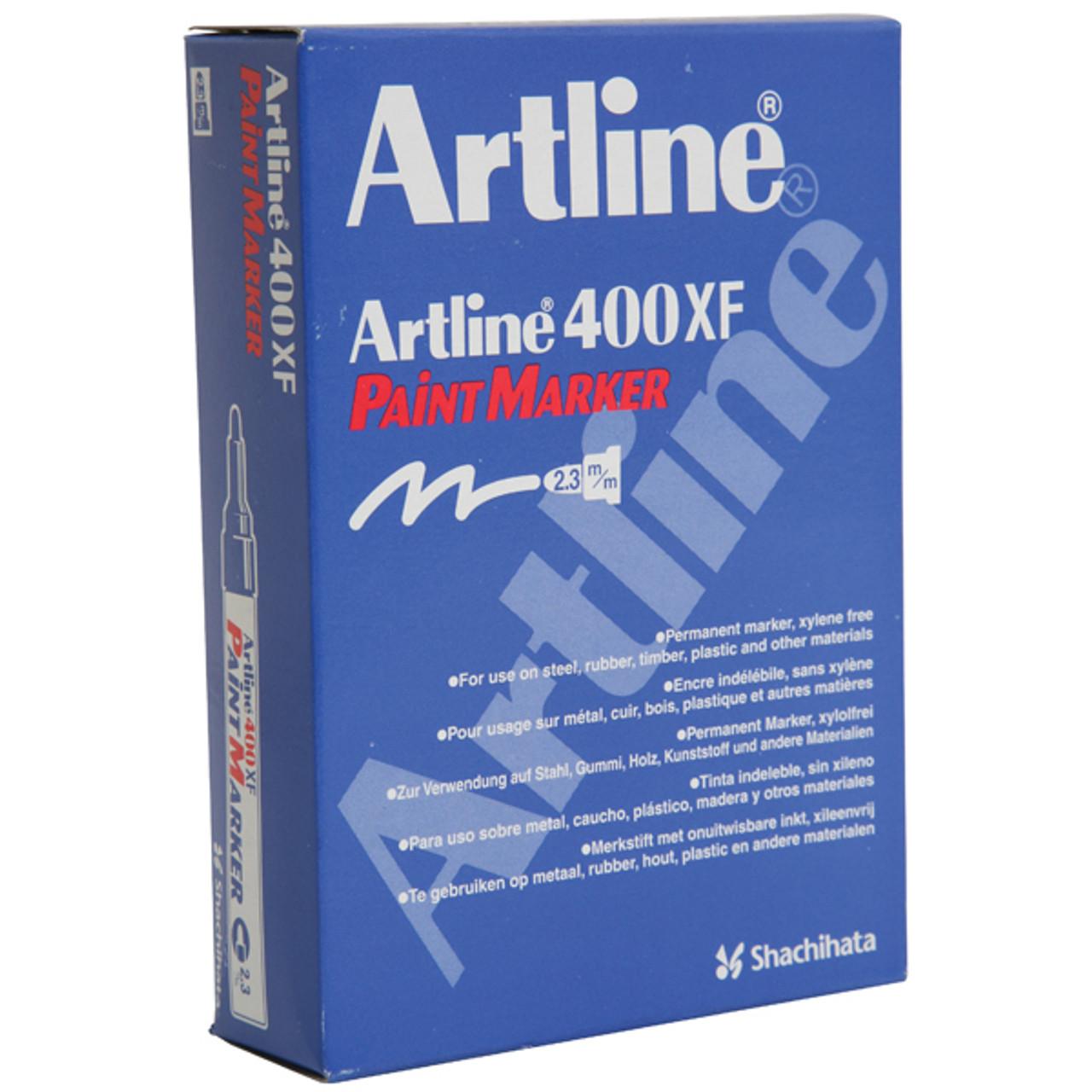 Artline Permanent Marker 400XF Med Bullet Nib Multiple Colors