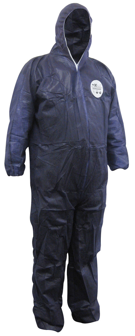 CHEMGUARD BLUE SMS TYPE 5/6 DISPOSABLE COVERALLS