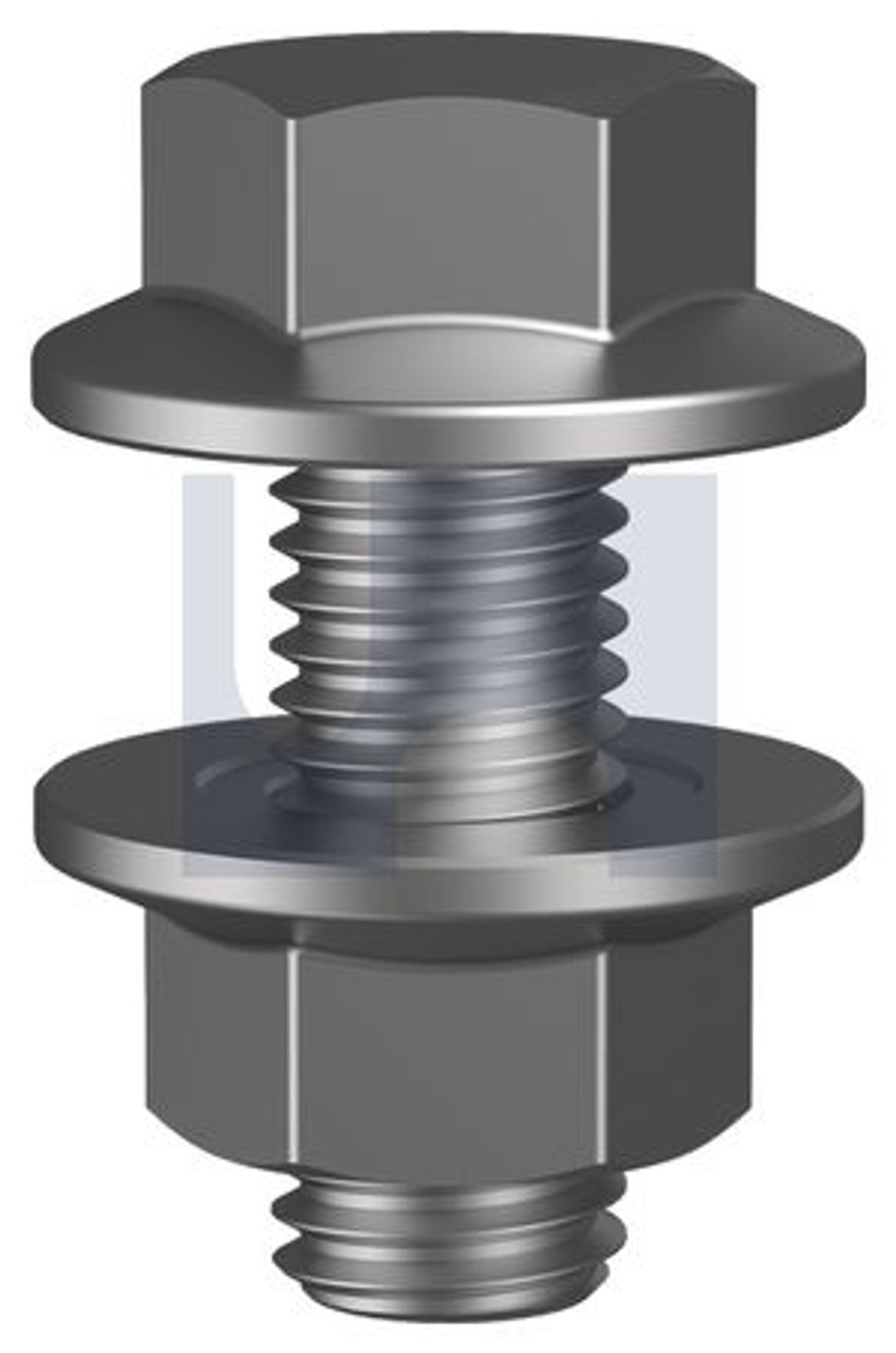 GALVANISED CLASS 4.6 FLANGED PURLIN BOLT KIT