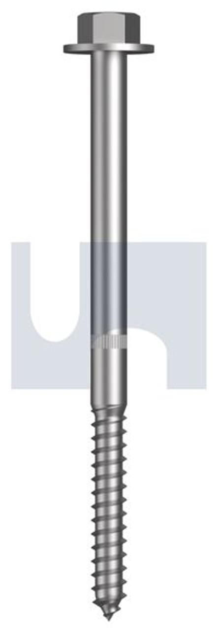 GALVANISED CLASS 5.8 COACH SCREW M16 x 250