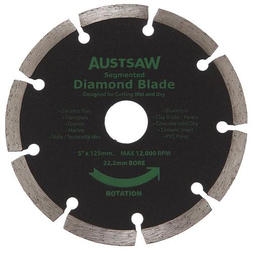 Diamond Blade 22.2mm Bore Austsaw Segmented