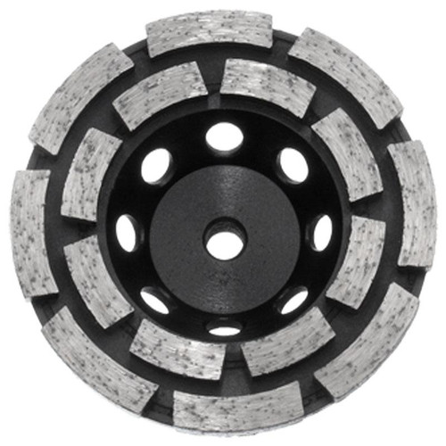 Diamond Cup Wheel M10 Thread Bore Austsaw 103mm(4in) Double Row