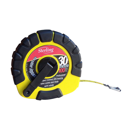 30m Steel Closed Reel Tape Measure