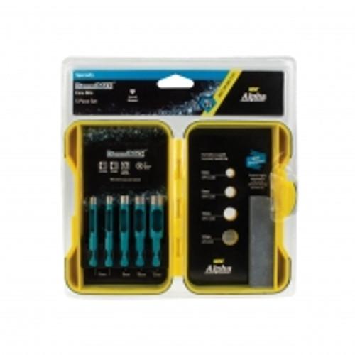 5pce Diamond Max Core Drill Set