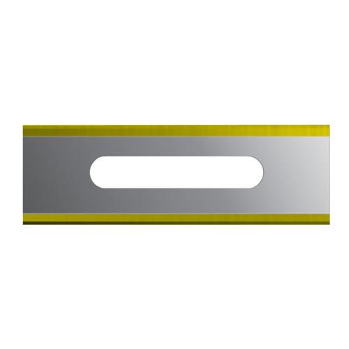 Slotted Blade - Square Corner TiN Coated (ea)
