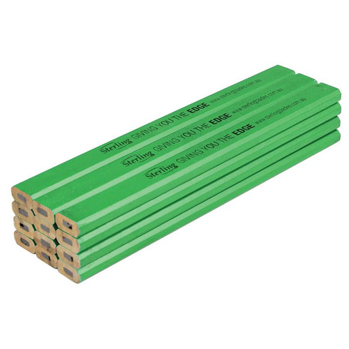 Sterling Builders Pencil - Green Hard Lead